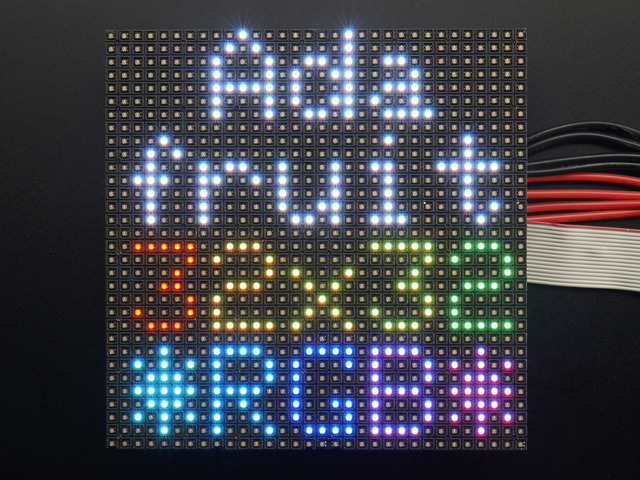 32x32 RGB LED Matrix Panel - 4mm Pitch
