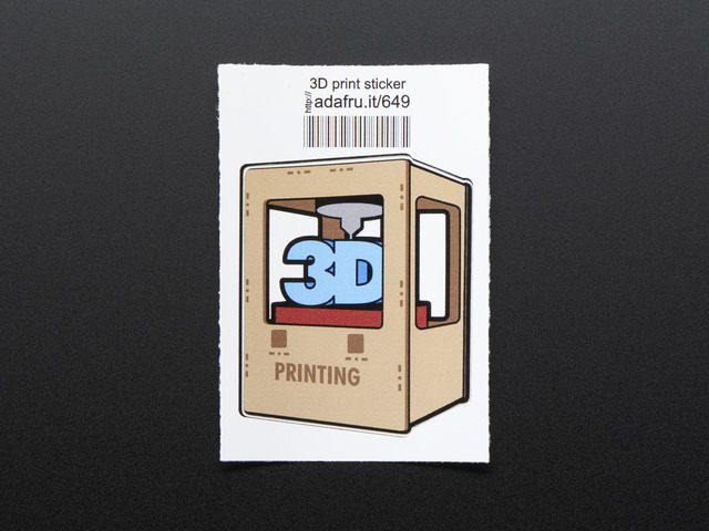 3D printing - Sticker!
