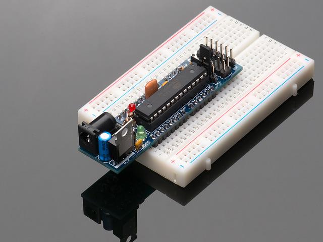 DC Boarduino (Arduino compatible) Kit (w/ATmega328)