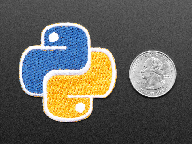 Python - Skill badge, iron-on patch