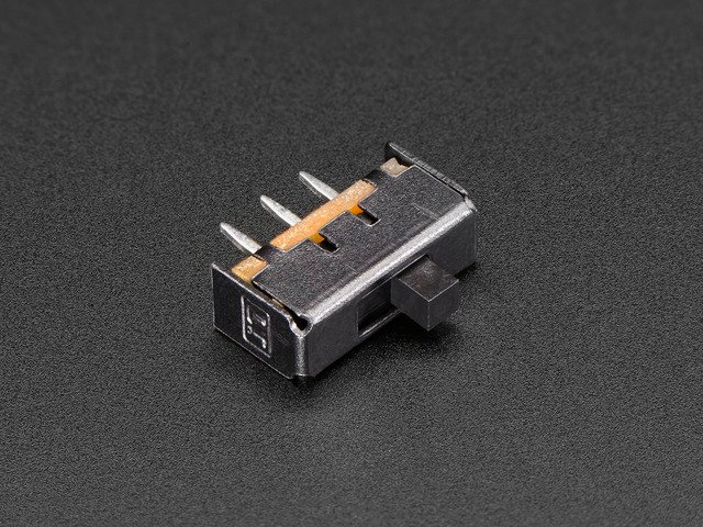 Breadboard-friendly SPDT Slide Switch