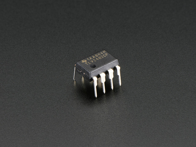 Op Amp - Dual Rail-to-Rail - 2.7-6V power @ 80mA output