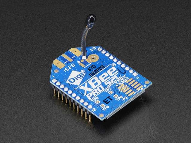 XBee Pro Module - ZB Series 2SC - 63mW with Wire Antenna