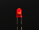 Diffused Red 3mm LED (25 pack)
