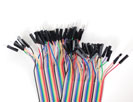 "Premium Female/Male 'Extension' Jumper Wires - 40 x 6"" (150mm)"