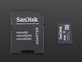 4GB BlankMicroSD Memory Card with SD card adapter