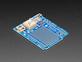 Angled shot of Adafruit Ultimate GPS Logger Shield - Includes GPS Module