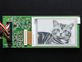 E-Ink breakout board with image of cat
