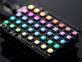 Adafruit NeoPixel Shield for Arduino - 40 RGB LED Pixel Matrix lit up rainbow