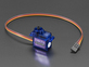 Micro servo with three pin cable