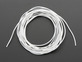 Silicone Cover Stranded-Core Wire - 2m 30AWG White