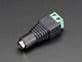 Female DC Power adapter - 2.1mm jack to screw terminal block