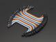 """Premium Female/Female Jumper Wires - 40 x 3"""" (75mm)"""