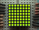 Miniature 8x8 Green LED Matrix