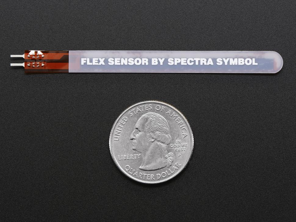 Short Flex Sensor
