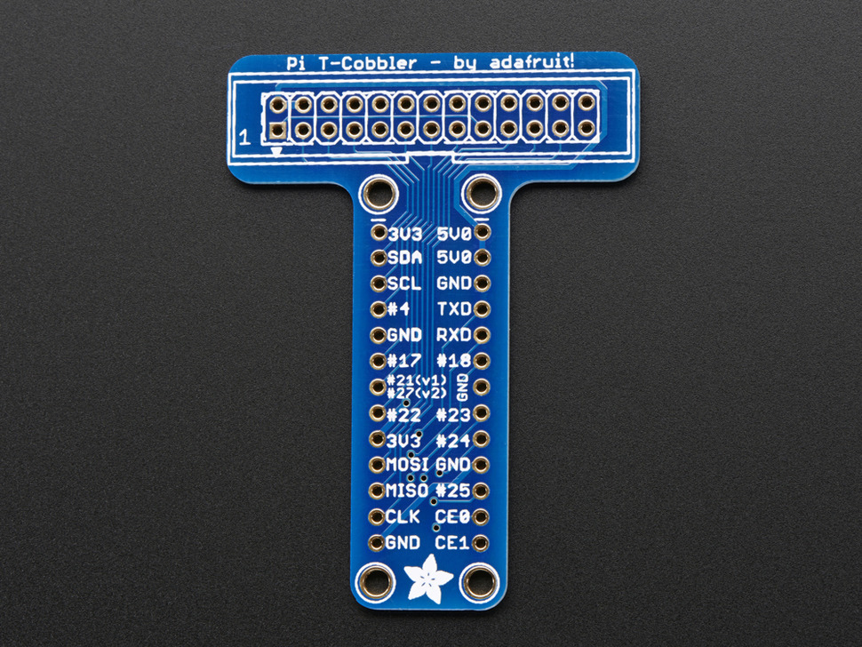 Adafruit Pi Unassembled T-Cobbler Breakout Kit for Raspberry Pi