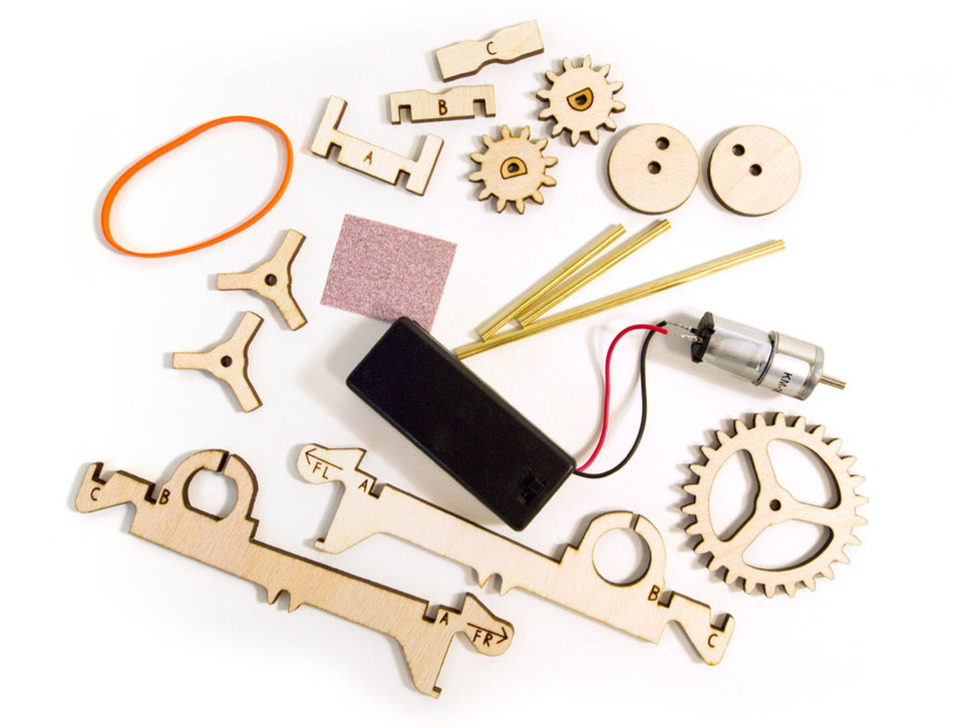 Motor Kit for Kinetic Creatures