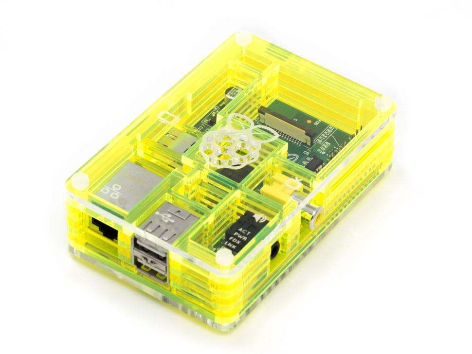 Toxic Pibow - Enclosure for Raspberry Pi Model B Computers