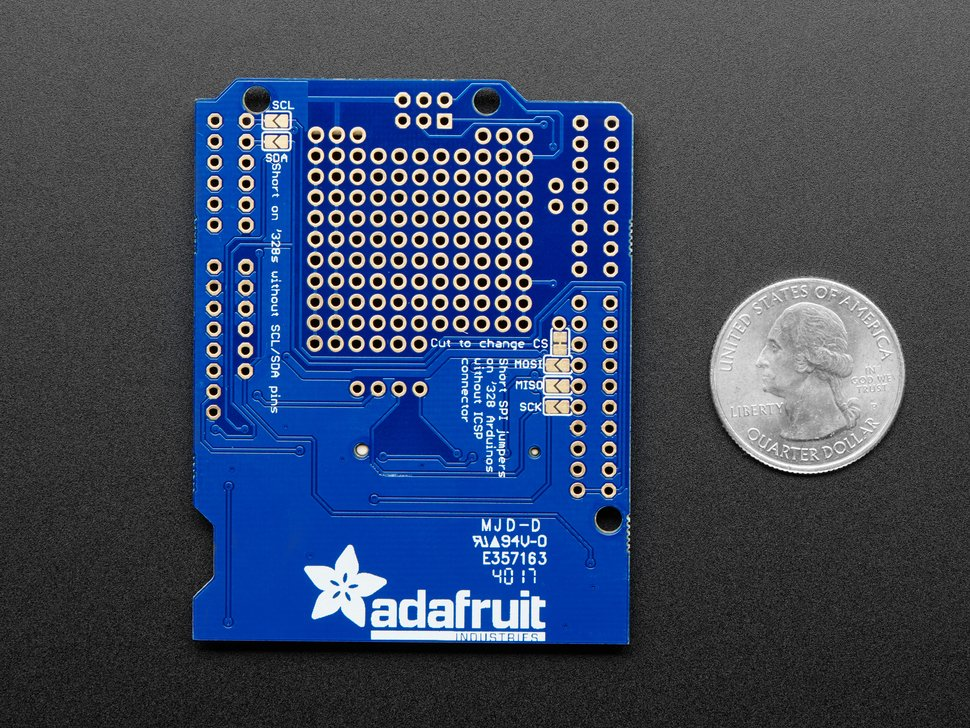 Adafruit Assembled Data Logging shield for Arduino