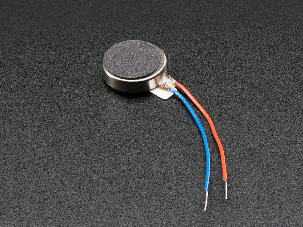 Vibrating Mini Motor Disc with two wires
