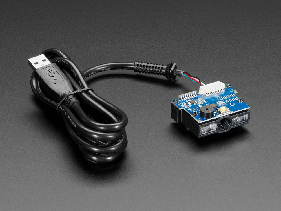 Barcode Reader/Scanner Module with USB Interface