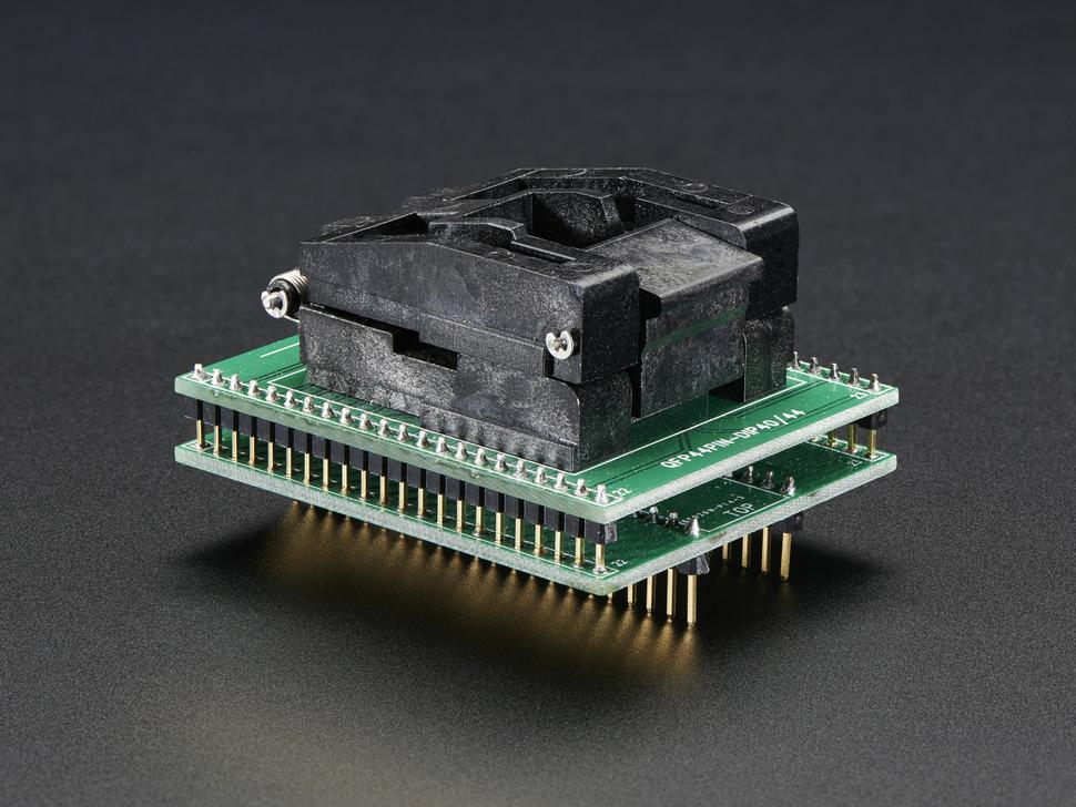 SMT Test Socket - TQFP-44 Breakout
