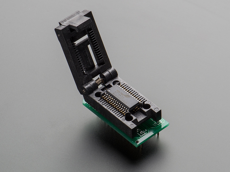 SMT Test Socket - SOIC-28 Wide Breakout