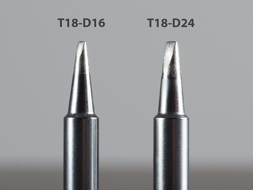 Hakko Soldering Tip: T18-D24 Screwdriver - For Lead or Lead-Free