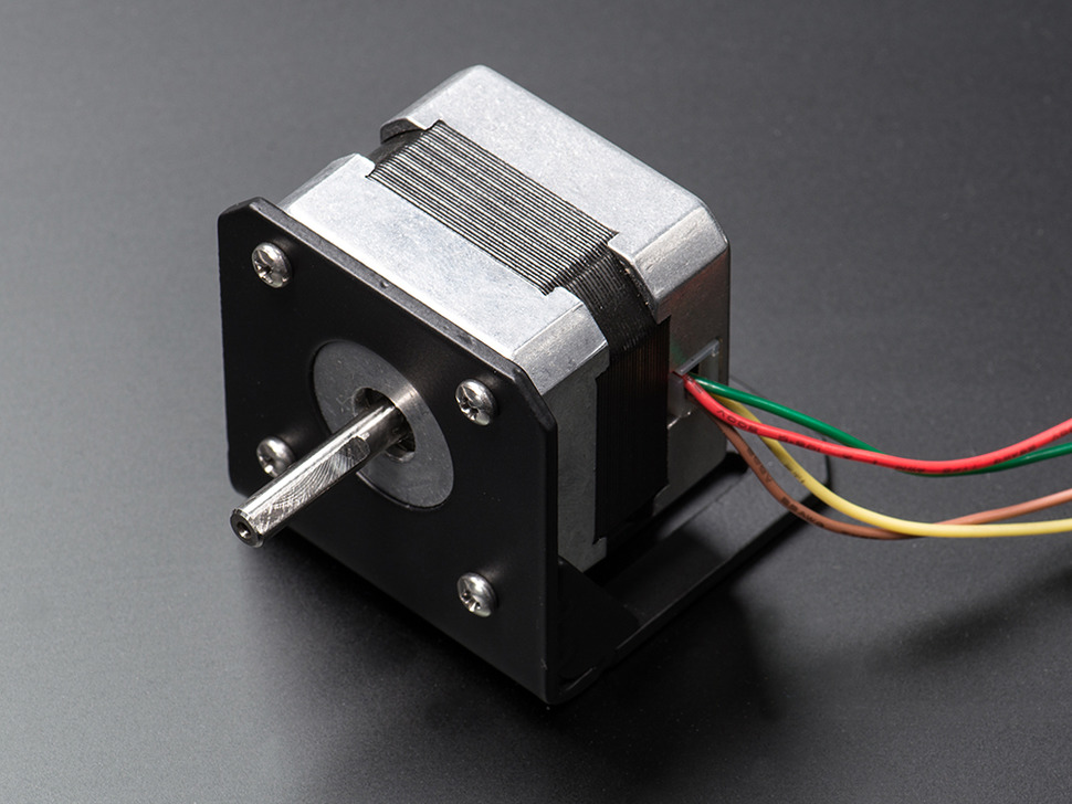 Stepper Motor Mount with Hardware - NEMA-17 Sized