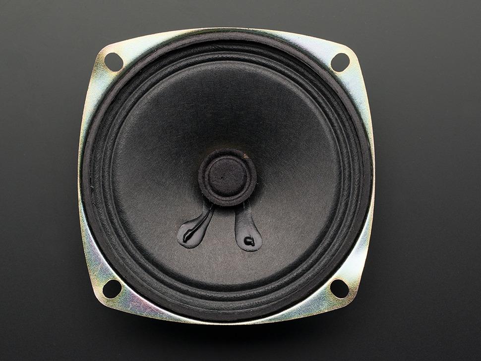 "Speaker - 3"" Diameter - 8 Ohm 1 Watt"
