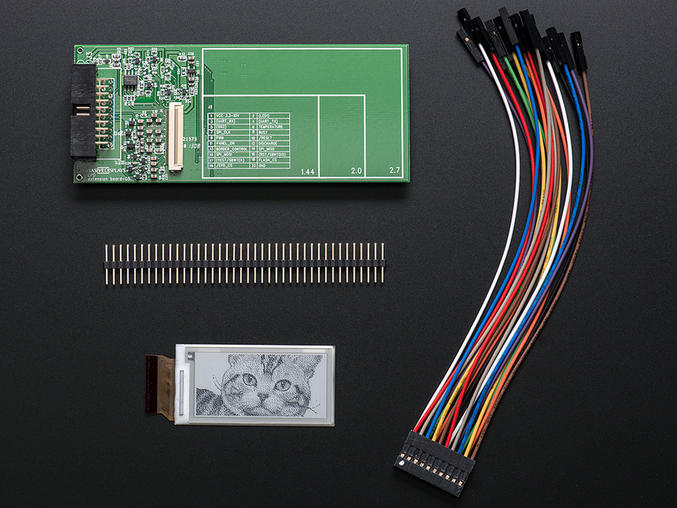 "RePaper - 2.0"" Graphic eInk Development Board - SG020"