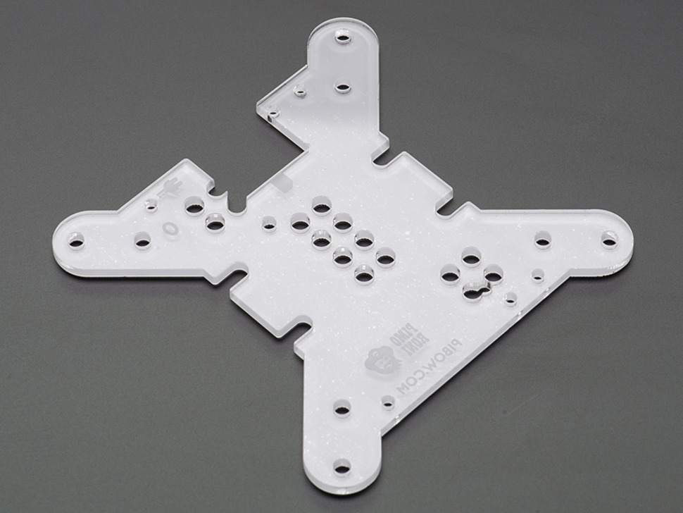 PiBow VESA Mounting Layer Plate