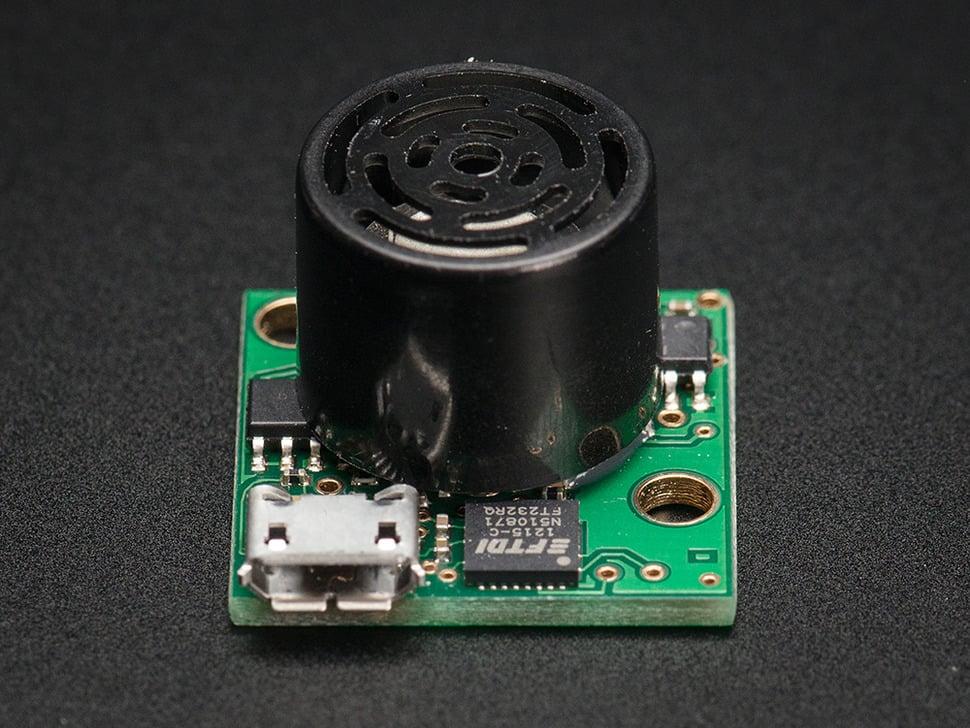 Maxbotix Ultrasonic Rangefinder - HR-USB-EZ1 - MB1413
