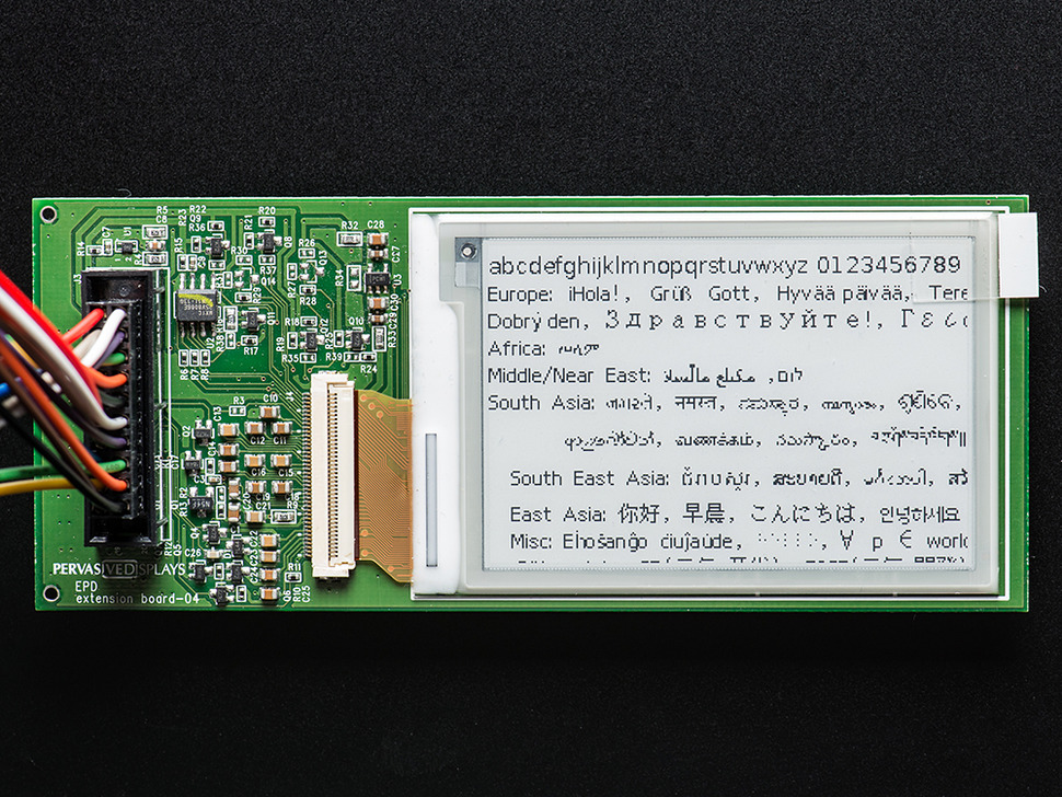 "RePaper - 2.7"" Graphic eInk Development Board - SM027"