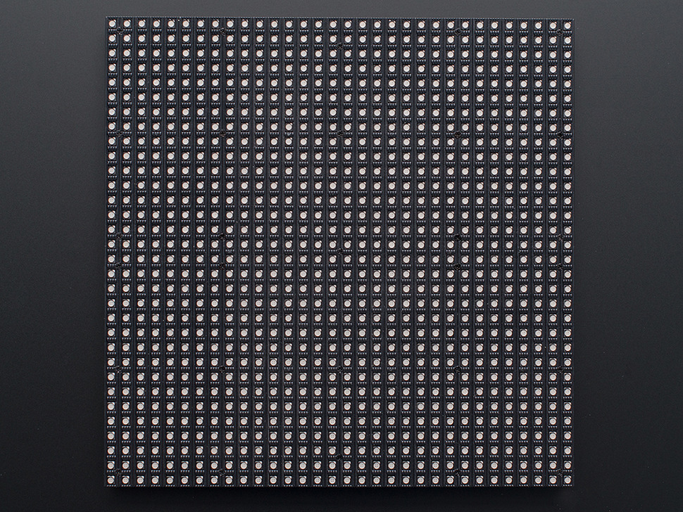 PIXEL Guts Kit - Bluetooth Controlled 32x32 RGB LED Matrix Kit - V2.5