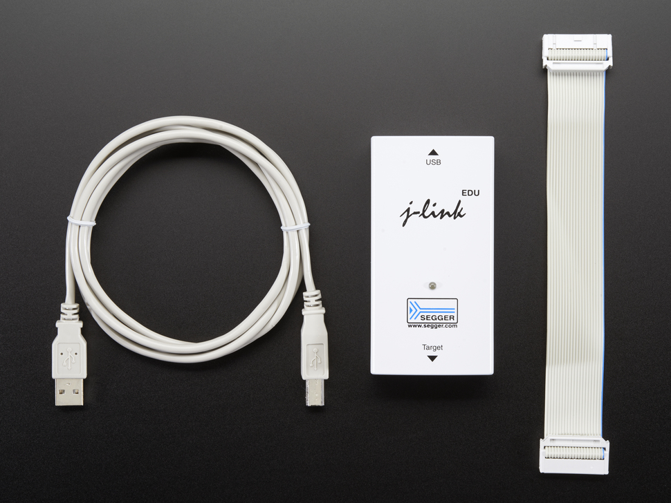 USB cable, JLink and JTAG cable