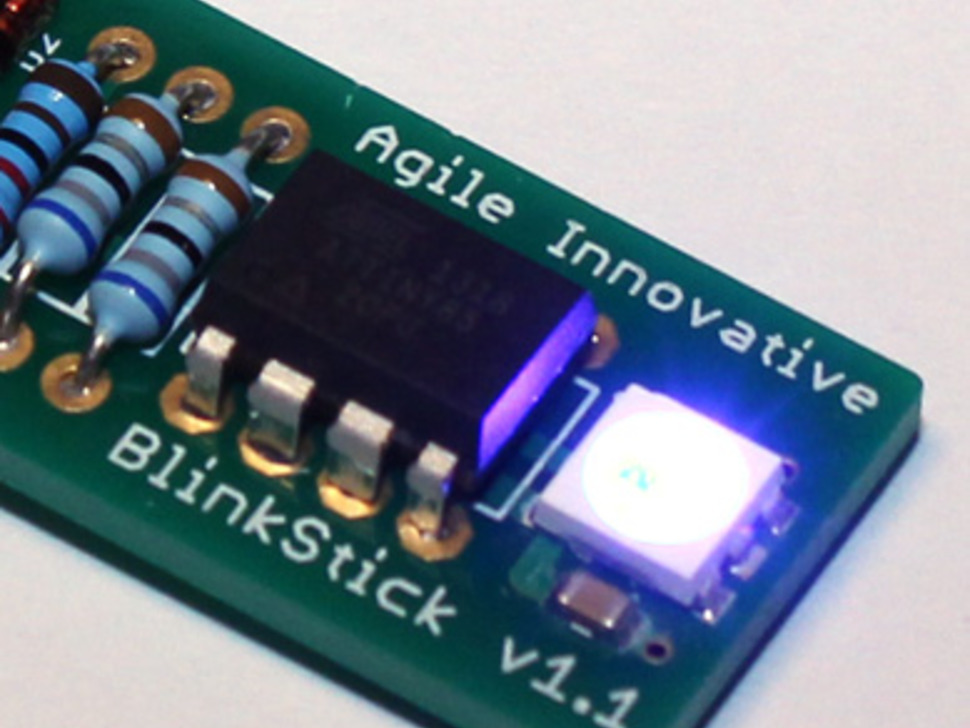 BlinkStick - Smart USB-Controlled LED Pixel Kit