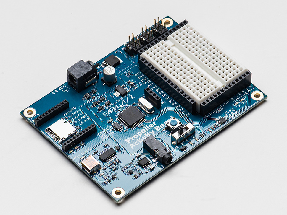 Parallax Propeller Activity Board