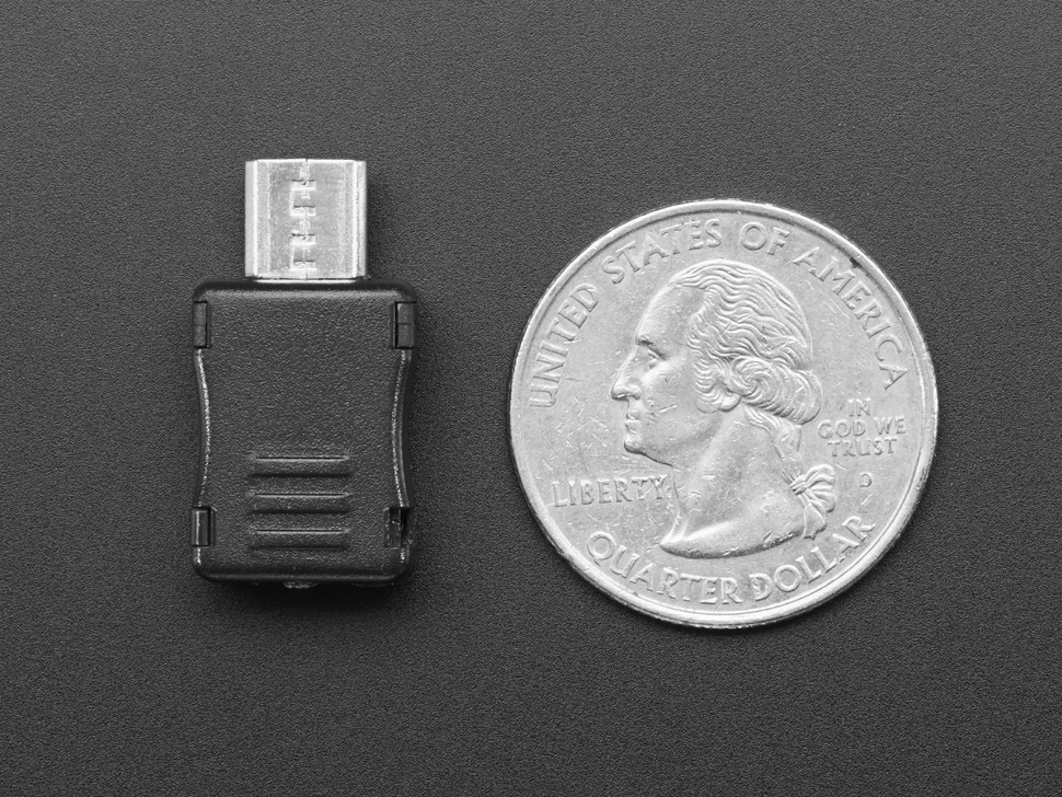 USB DIY Connector Shell - Type Micro-B Plug