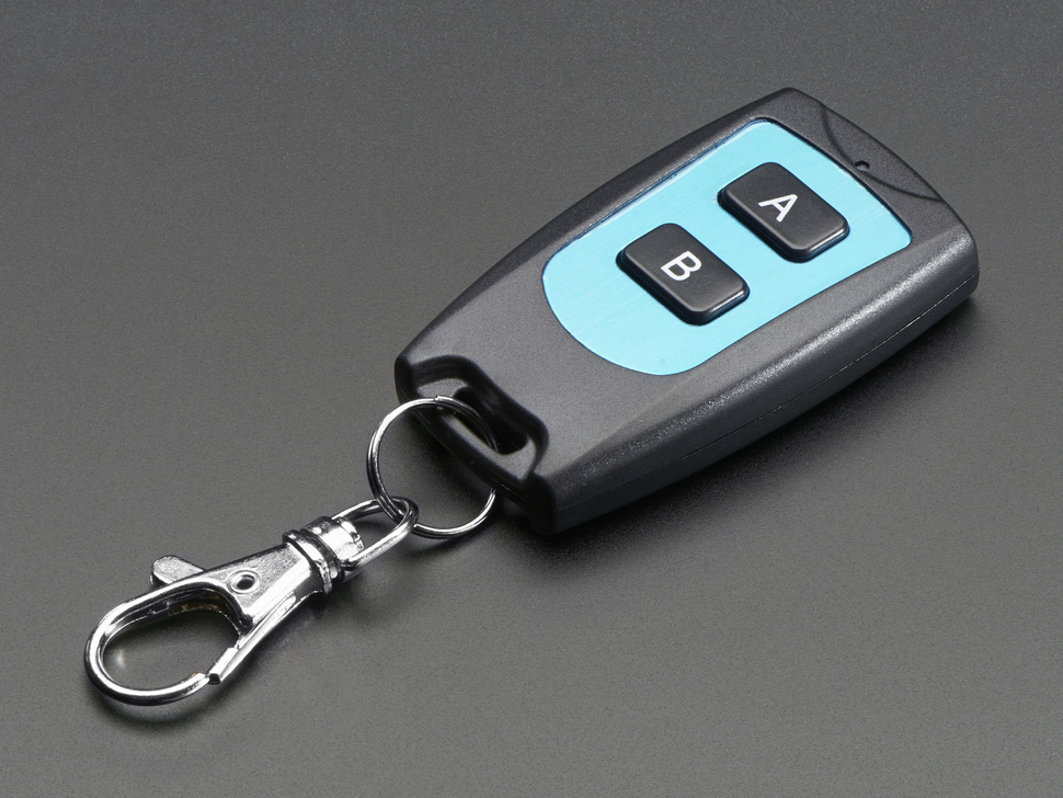Keyfob 2-Button RF Remote Control