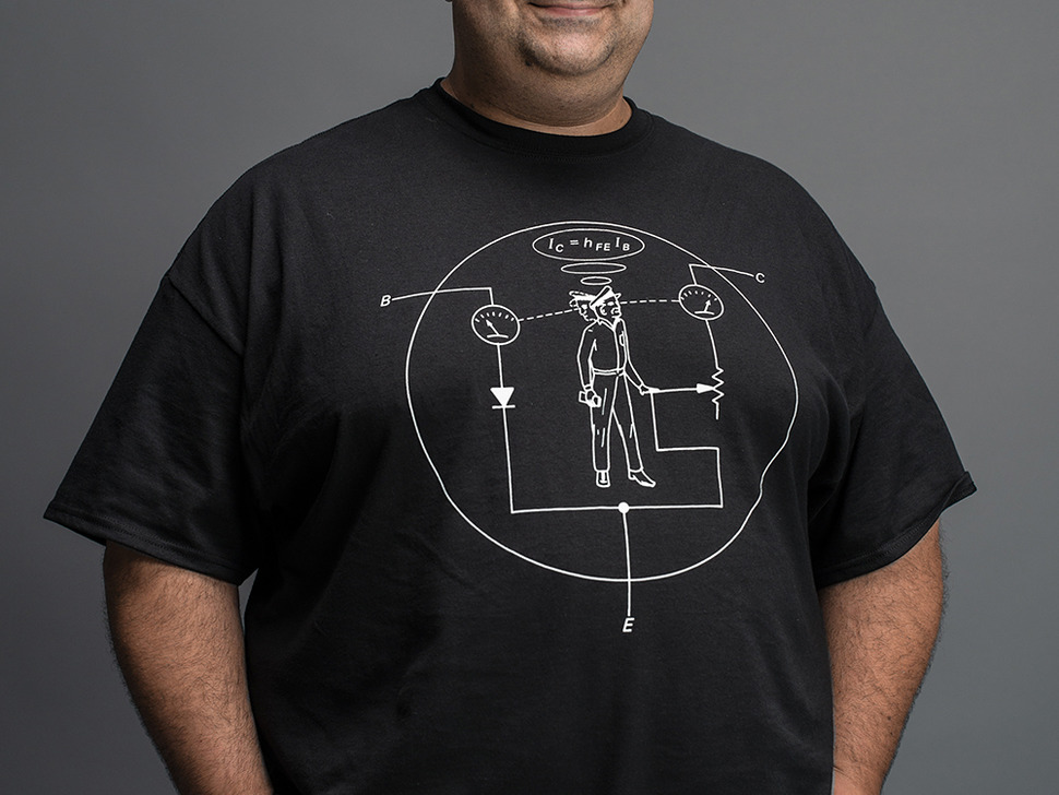 Transistor Man Shirt - Mens 4X-Large