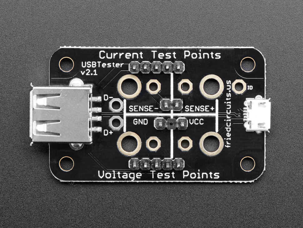 FriedCircuits USB Tester v2.0