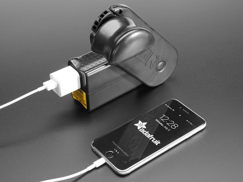 Pocket Socket 2 - Hand-Crank Power Outlet