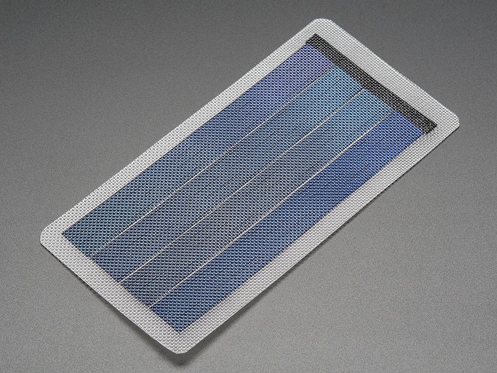 Flexible 6V 1W Solar Panel