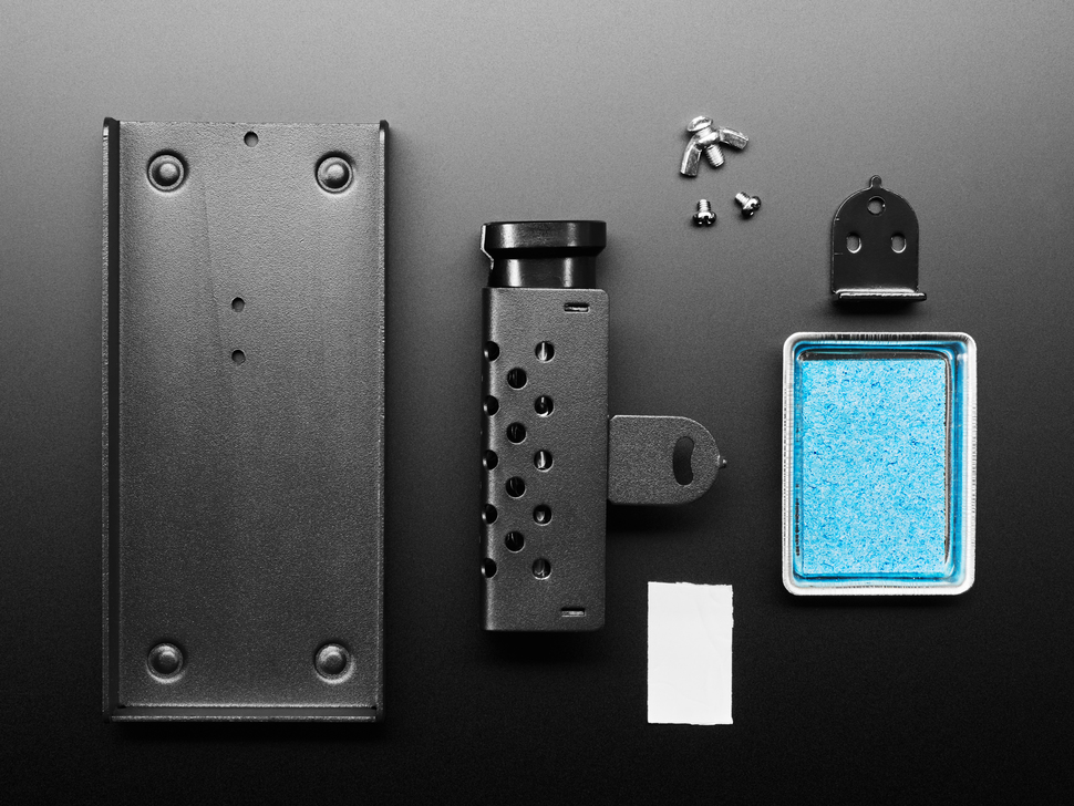 Kit shot of metal soldering iron stand