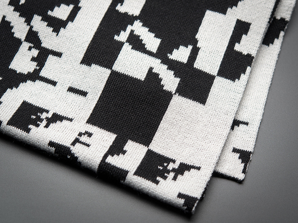 Glitch Scarf by Glitchaus
