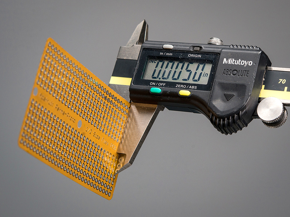 Adafruit Flex Perma-Proto - Half-sized Breadboard Flex-PCB