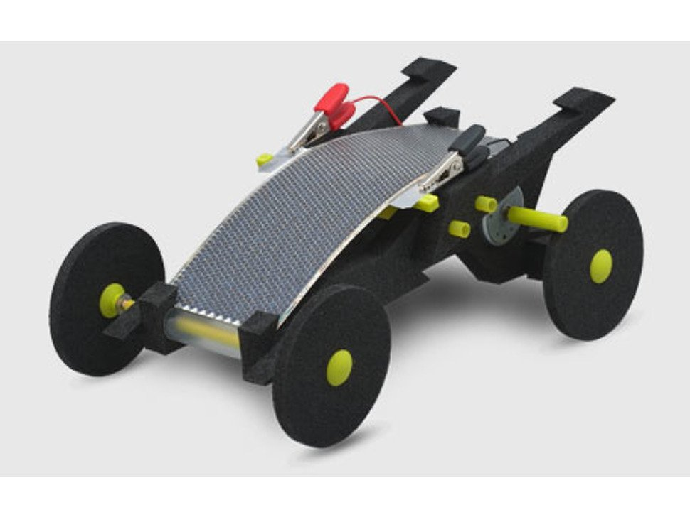 Volta Racers Solar Motorcar Kit - Black