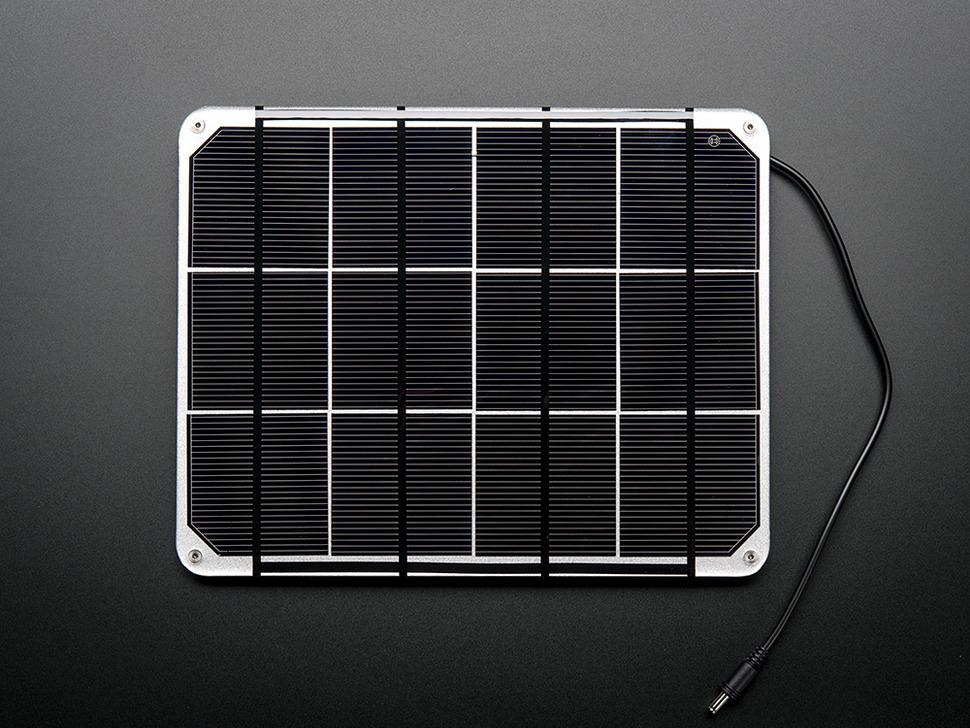 Huge 6V 6W Solar panel - 6.0 Watt