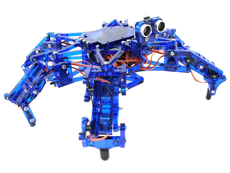 Hexy - Programmable Hexapod Kit